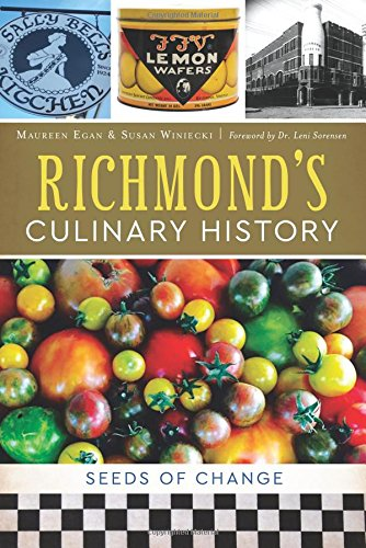 Richmond's Culinary History book cover